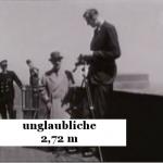 Der größte Mann der Erde 2,72 m
