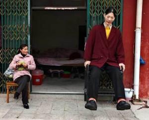 De Fen Yao - größte Frau der Welt