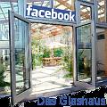 Bild: Facebook das Glashaus