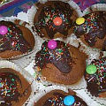 Bild: Schoko-Bio-Rübli-Muffins