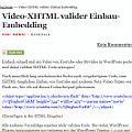 Video-xhtml-tauglich-einbinden