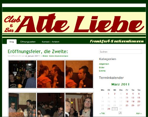 Alte Liebe in Frankfurt-Sachsenhausen