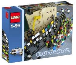 Das Bild: Lego für den Mann. Das Stuttgart-21-Lego-Set
