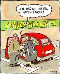 Bild: Martin Perscheid: Frauenparkplätze