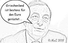 Mario Draghi - Griechenlands Euro-Helfer?