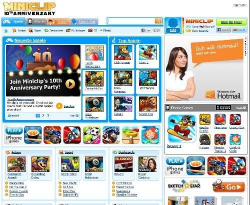 Online-Games/Online-Spiele auf Miniclip.com