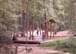 Spielplatz im Wildpark Alte Fasanerie