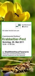 Krabbeltierfest im StadtWaldHaus