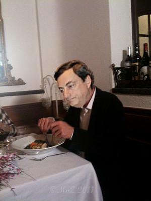 Mario Draghi: Selbst eingebrockte griechische Suppe auch auslöffeln