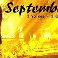 Bild: Septembersong: 3 Voices – 3 Guitars