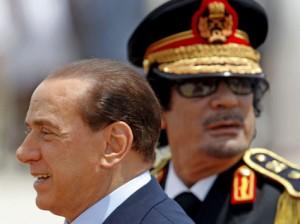 Berlusconi und Gaddafi - Bild von linksunten.indymedia.org