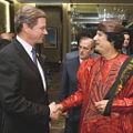 Bild: Westerwelle und Gaddafi - Bild von linksunten.indymedia.org