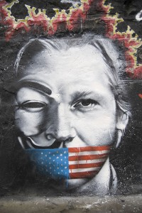 Julian Assange von Abode of Chaos