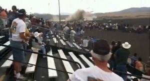 Flugzeugabsturz in Reno (Video-Screenshot)