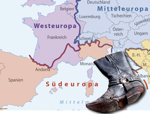 Alter Stiefel Italien