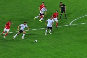 Deutschland gegen Österreich 6 : 2 - ein Bild von wuestenigel