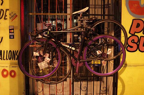 Fahrrad / Bike parken by mikeywally - Als Pärchen aufgehängt.