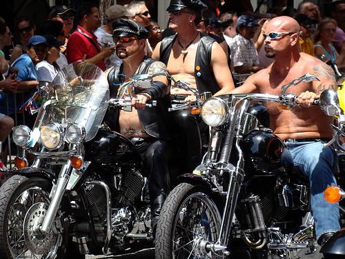 Biker / Motorradfahrer - Gays / Daddys von istolethetv