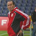 Bild: Schalke 04 und die Trainer: Huub Stevens nach dem FC Red Bull Salzburg,Trainer bei Schalke 04 und nun arbeitslos.