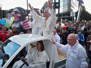 Papst - Demo von dielinke_sachsen