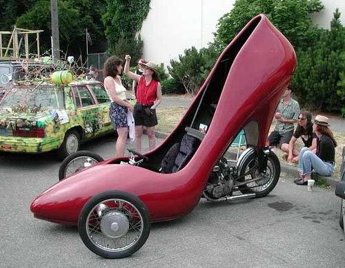 Shoe bike von antonde
