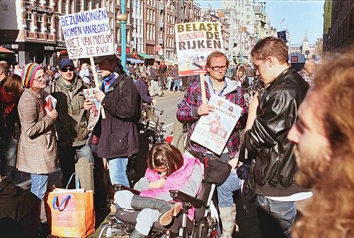 Amsterdam Occupy von Joost J. Bakker IJmuiden