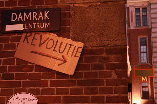 Amsterdam Occupy von Pablo Moroe