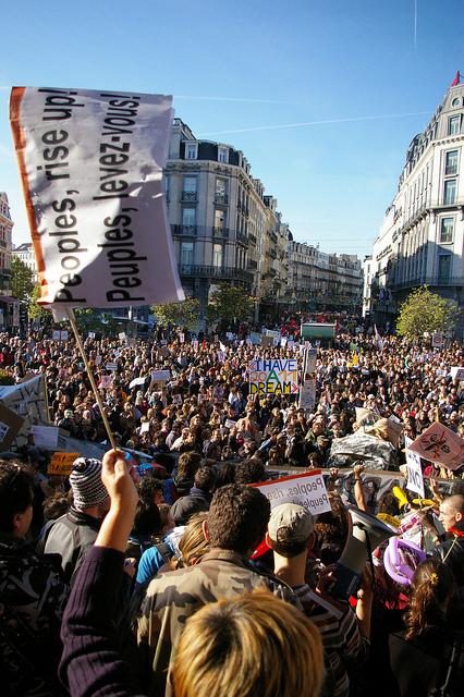 Brüssel - Occupy von Anja Hermans