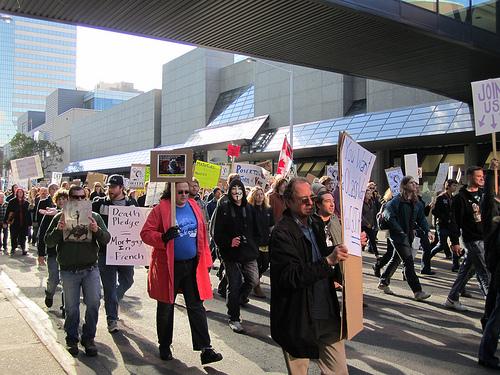 Edmonton occupy von mastermaq