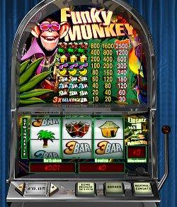 Funkey Monkey - Der virtuelle Automat von Prestige Casino
