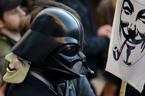 London Occupy - Darth Vader von npmeijer