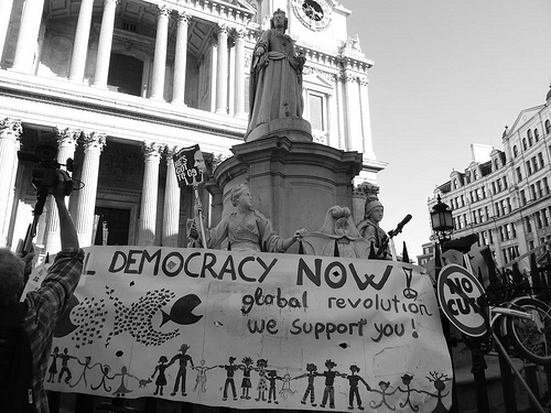 London occupy Democracy now von xpgomes8