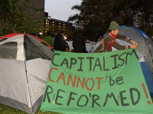 Minneapolis Occupy Tents von Fibonacci Blue