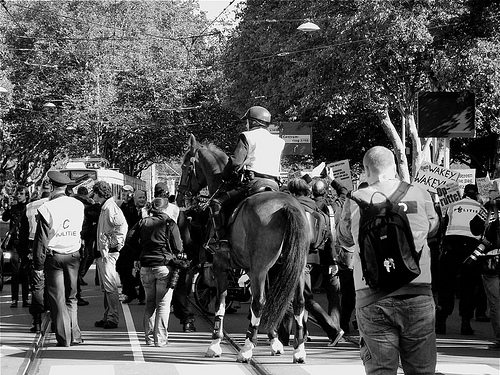 Occupy Den Haag von Meneer De Braker (Akbar2)