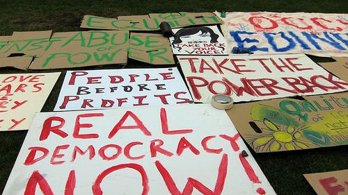 Occupy Edinburgh von alister