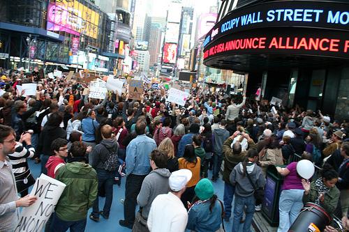 Occupy Times Square von BlaisOne