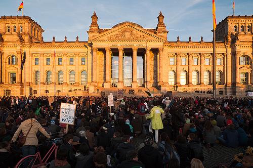 Occupy in Berlin - Reichstag von epha
