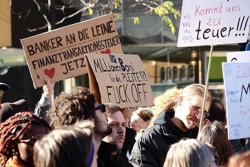 Occupy in Hannovern von ohallmann