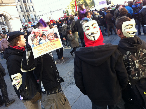 Occupy in München von NiceBastard