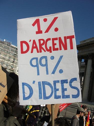 Occupy in Paris von Dan Finnan