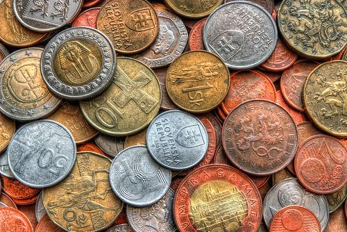Slowakei und der Euro-Rettungsschirm: Zurück zu den alten Währungen? Bild von theodevil