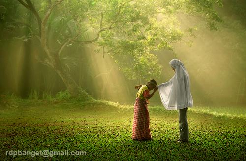 Eid el fitr, idul fitri (kann ich nicht übersetzen...) von Rarindra Prakarsa