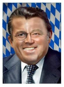 Guttenberg <-- Strauß -  Reinkarnation in Bayern? - Bild von shivaelektra