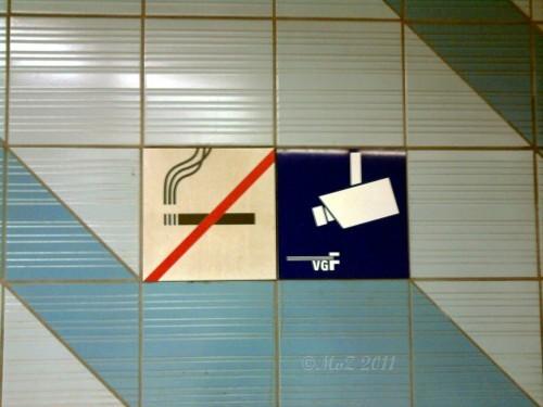 Raucherkontrolle statt mehr Wagen in Frankfurts U-Bahnhöfen
