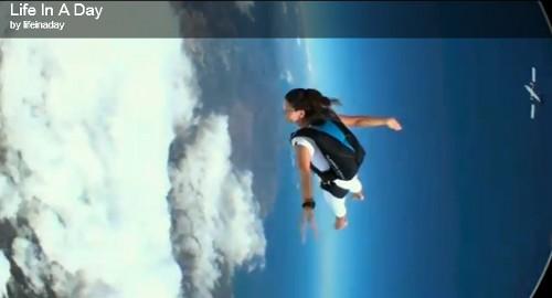 """Screenshot von """"Das Leben in einem Tag"""" (Life in a day)"""