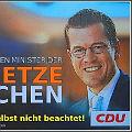 Guttenberg auf dem Wahlplakat - Bild von christoph_2008