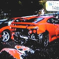 Bild: Unfall Japan: 14 Nobelkarossen zersört - Bild: Screenshot Ferraris