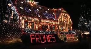 Weihnachtsbeleuchtung extrem: 420.000 Lichter