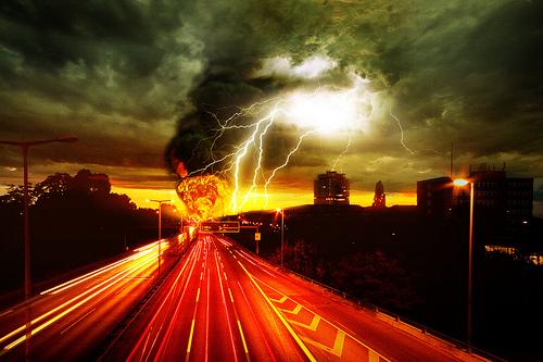 Weltuntergang 2012 - Bild: Road to Hell von 96dpi