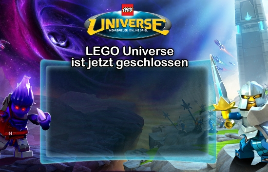 LEGO Universe ist geschlossen (Screenshot)